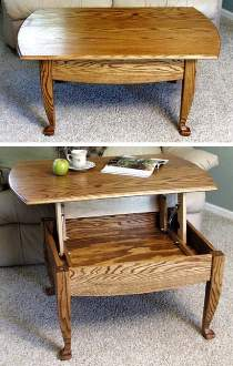 Lift-Up-Top Coffee Table Hardware