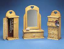 Country Jewelry Chests Hardware