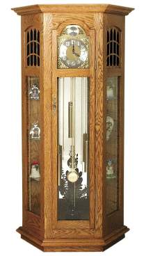Curio Display Clock Hardware