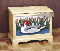 Duck Blanket Chest Hardware
