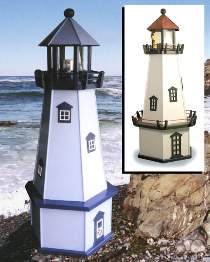 Copper Lighthouse Roof Kit