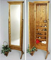 Bedroom Mirror Jewelry Cabinet Special