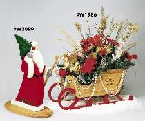 Father Christmas & Elegant Sleigh Plan Special