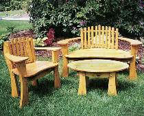 Cozy Garden Furniture Plan Special