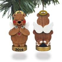 Christmas Bear Ornament 2016 Plan