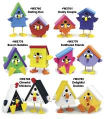"""Friendly Bird"" Birdhouses"