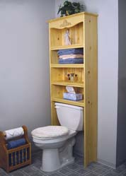 Bathroom Shelves Plan